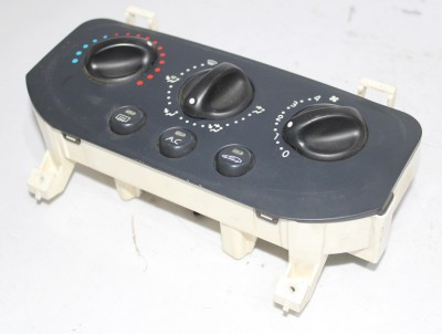 bontott fűtéskezelő / klímavezérlő panel RENAULT CLIO II (BB0/1/2_, CB0/1/2_) 163/GY05855 raktárazonosítóval