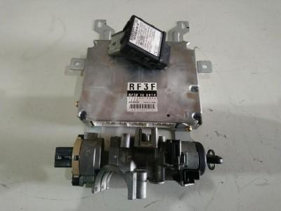 bontott motorvezérlő szett, gyújtáskapcsoló, immo MAZDA 323 F VI (BJ) R/205#3861 raktárazonosítóval