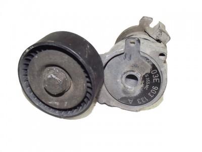bontott szíjfeszítő konzol SKODA FABIA (6Y2) 196/GY02995 raktárazonosítóval