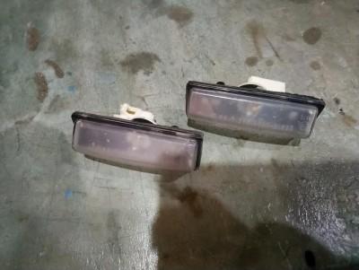 bontott rendszámtábla világítás 2db SUZUKI LIANA (ER, RH_) R/230#4417 raktárazonosítóval