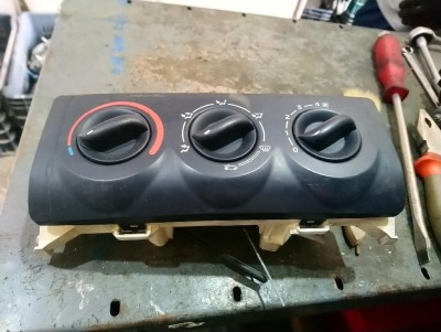 RENAULT CLIO II (BB0/1/2_, CB0/1/2_) 1.5 dCi (B/CB07) fűtéskezelő panel